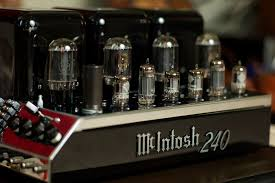 mcintosh mc240 tube amp
